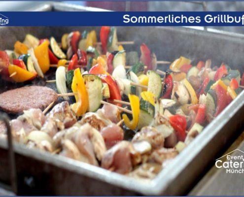 Sommerliches Grillbuffet Catering Niederbayern