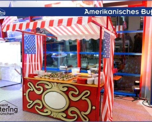 Amerikanisches Buffet Catering Niederbayern
