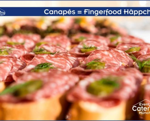Canapés Fingerfood Häppchen von Catering Niederbayern