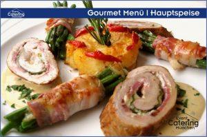 Gourmet Menü Hauptspeise Catering Niederbayern