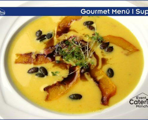 Gourmet Menü Suppe Catering Niederbayern