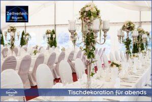 VIP-Hochzeit im Zelt von Zeltverleih Niederbayern