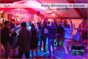 Almfest im Almzelt von Zeltverleih Niederbayern