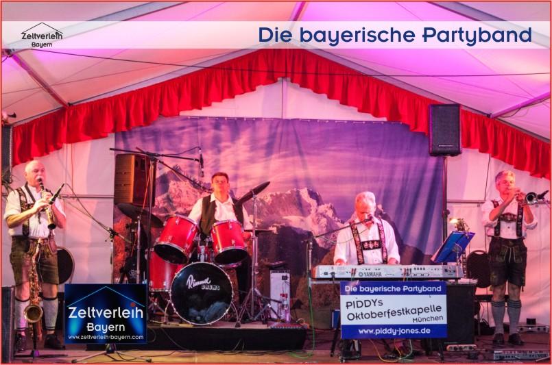 Almfest im Almzelt Niederbayern