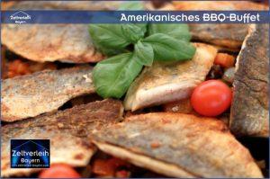 Amerikanisches BBQ Zeltverleih Niederbayern