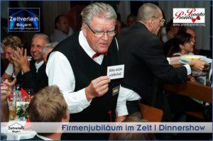 Firmenjubiäum im Zelt Zeltverleih Niederbayern