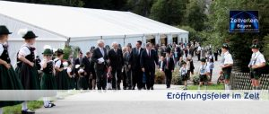 Eröffnungsfeier Zeltverleih Niederbayern